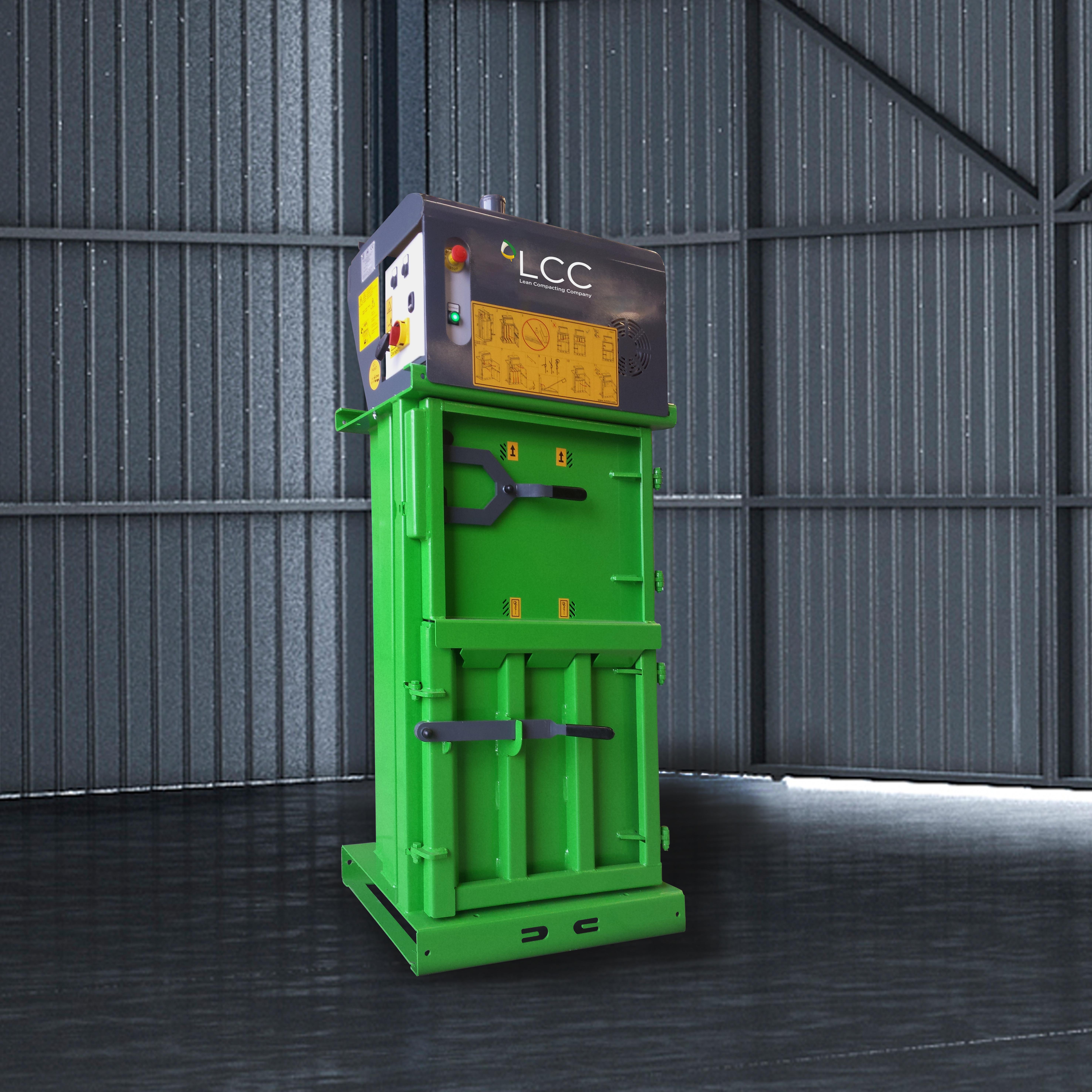 Prensa compactadora de residuos V4