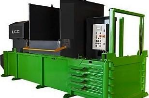 Prensa horizontal Lean Compacting Company H50