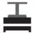 Prensa compactadora horizontal de residuos