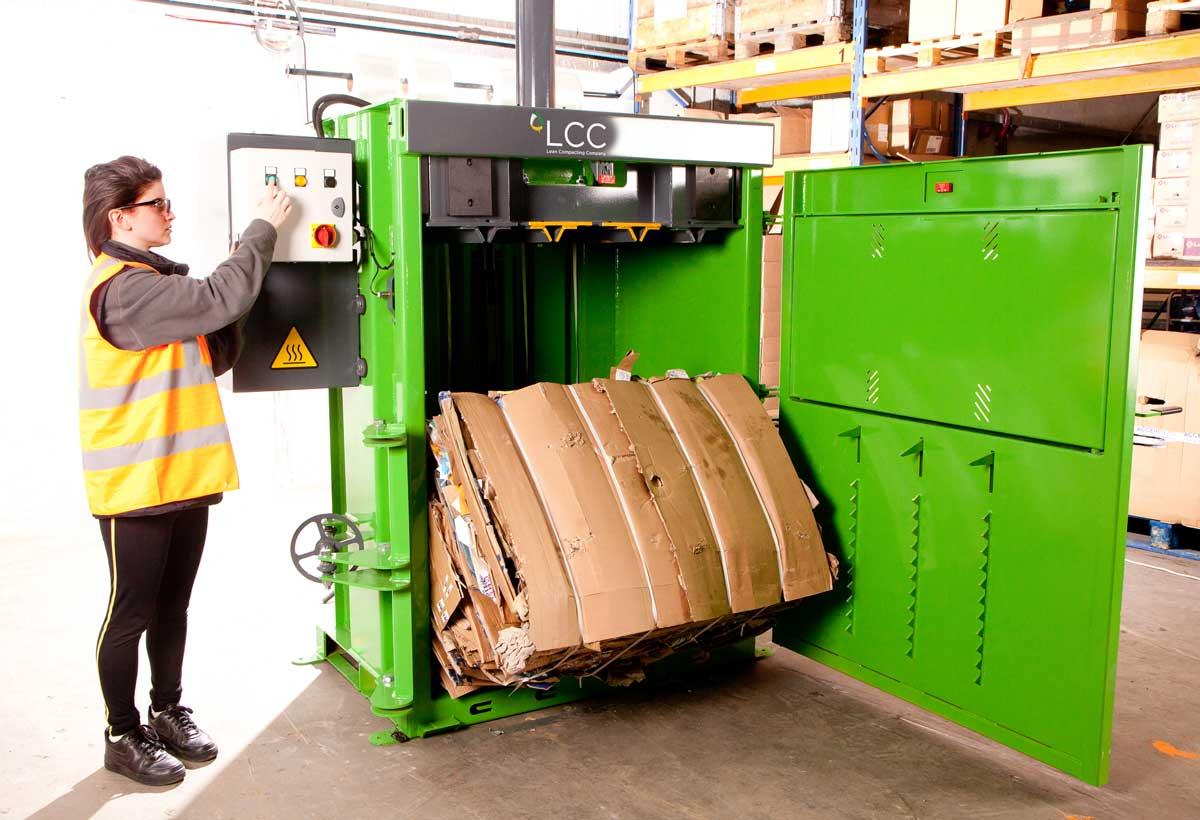 Prensa compactadora de residuos V16