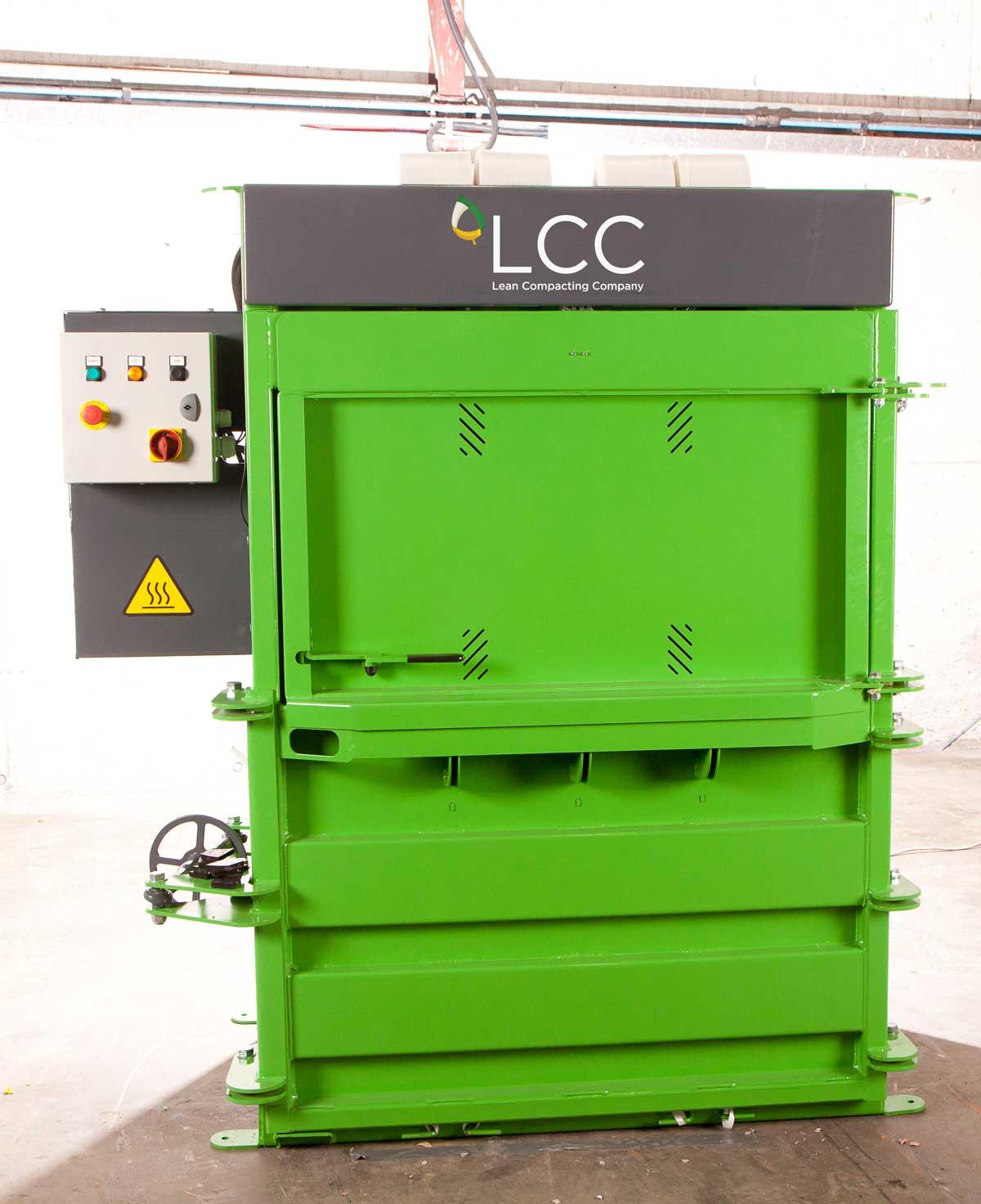 Prensa compactadora de residuos V20X