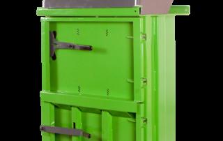 Prensa compactadora de residuos
