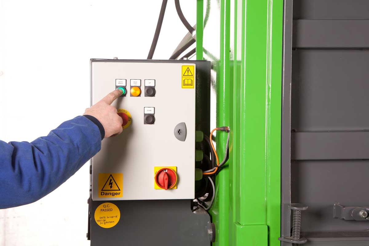 Prensa compactadora de residuos V50 de LCC