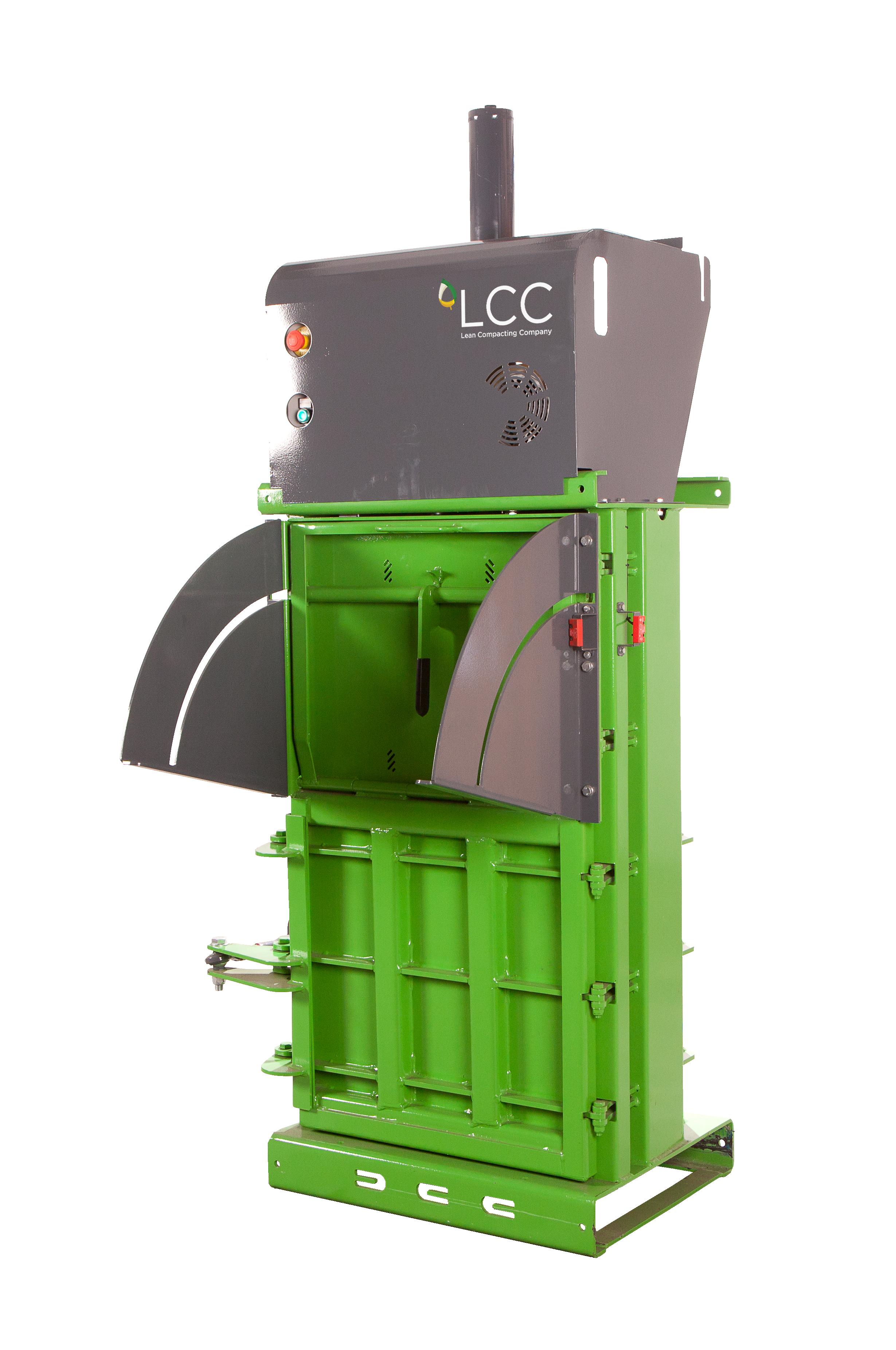 Compactadora de latas de aluminio y botellas PET