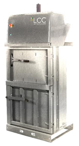 Prensa compactadora de residuos V5 en acero inoxidable
