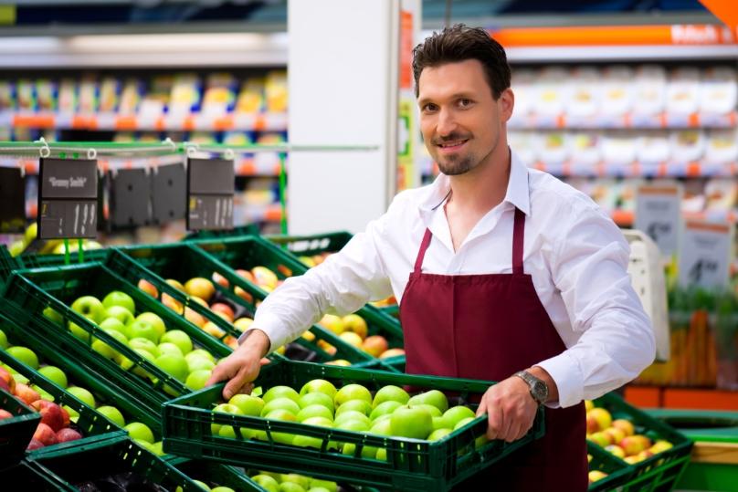 Compactación de residuos en supermercados