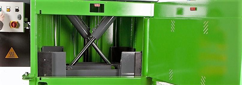 Empacadoras de residuos verticales