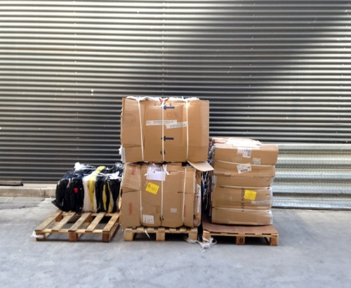 Residuos de cartón compactado
