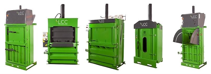Gama de prensas compactadoras de resdiudos