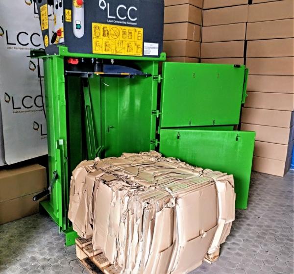 Compactadoras de cartón