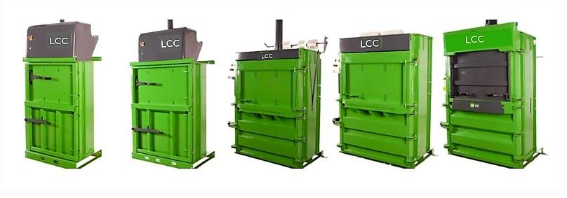 Prensas compactadoras de residuos